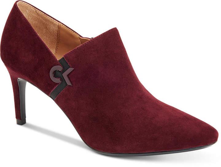 Calvin Klein Women's Joanie Pointed-Toe Shooties Women's Shoes