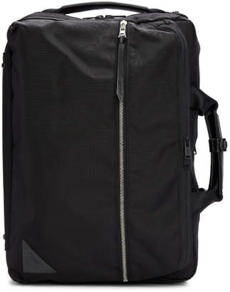 Master-piece Co Black Convertible 3 -Way Briefcase Backpack
