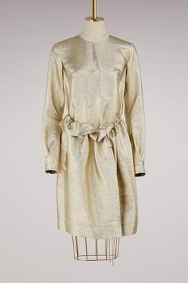 Stella McCartney Farrah metallic dress