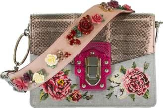 Dolce & Gabbana Fold Over Flower Bag