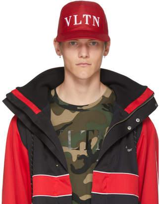 Valentino Red Garavani VLTN Cap