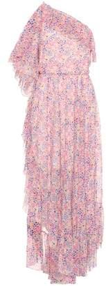 Philosophy di Lorenzo Serafini Floral-printed one-shoulder dress
