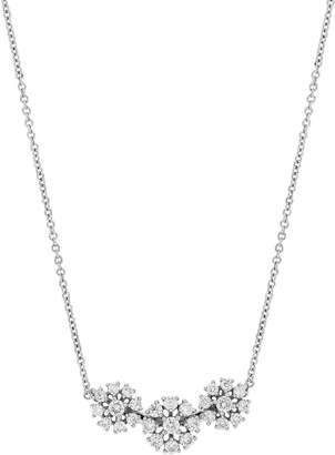 Bony Levy Flower Diamond Pendant Necklace