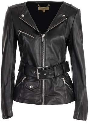 MICHAEL Michael Kors Zip-up Biker Jacket