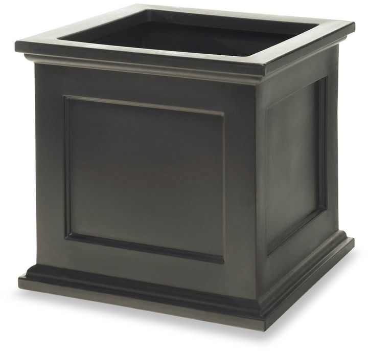 Bed Bath & Beyond Madison Patio Planter in Black