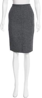 Marc Jacobs Virgin Wool Knee-Length Skirt