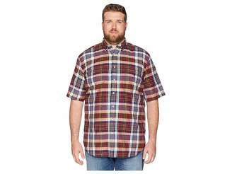 Polo Ralph Lauren Big & Tall Big Tall Madras Plaid Short Sleeve Sport Shirt