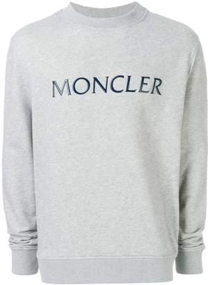 Moncler logo plaque sweatshirt