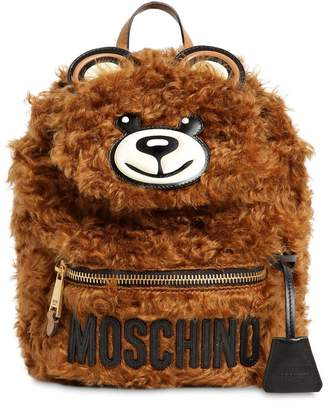 Moschino Teddy Bear Mohair Backpack