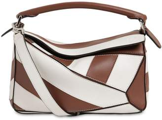 Loewe SMALL PUZZLE RUGBY LEATHER BAG