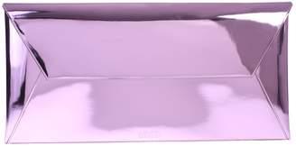 MM6 MAISON MARGIELA Pink Branded Clutch