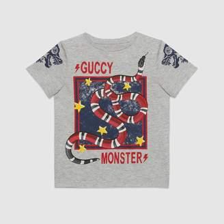 "Gucci (グッチ) - 〔チルドレンズ〕""Guccy Monster""&キングスネーク Tシャツ"