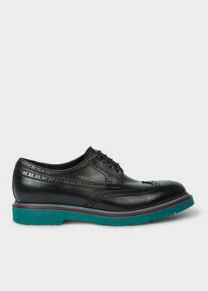 Paul Smith Men's Black Leather 'Crispin' Brogues