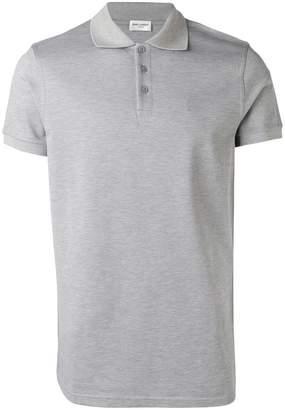 Saint Laurent basic polo shirt