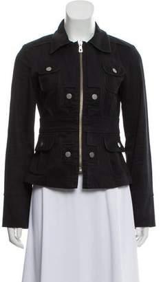 Christian Lacroix Woven Zip Front Jacket