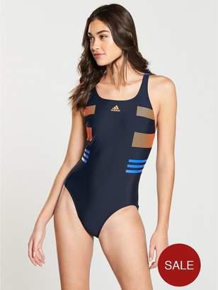adidas Occasional Swim Infinity Swimsuit - Blue
