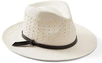 Banana Republic Open Weave Panama Hat