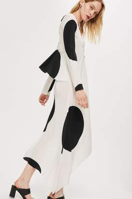 Topshop Large Spotted Shift Dress by Boutique