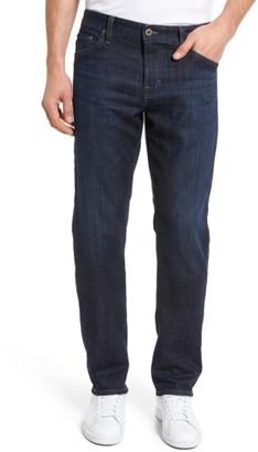 Men's Ag Graduate Slim Straight Leg Jeans $198 thestylecure.com