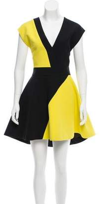 Fausto Puglisi Sleeveless A-Line Dress