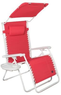 Zero Gravity Red Barrel Studio Evander Reclining/Folding Chair Red Barrel Studio