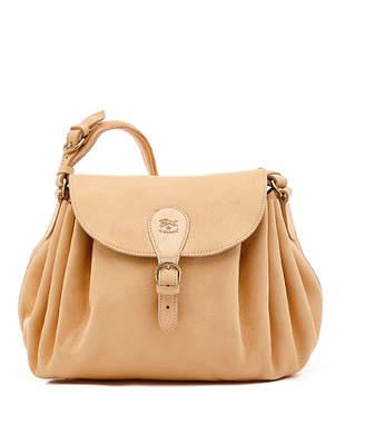 Il Bisonte Leather Curly Shoulder Bag