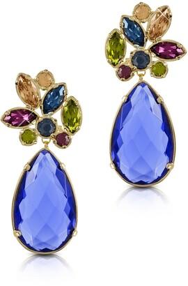 Forzieri Crystal Drop Earrings