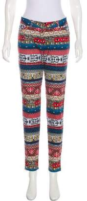 Kenzo Mid-Rise Printed Jeans