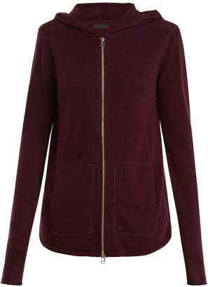 ATM Zip-through wool and cashmere-blend sweater