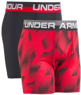 Under Armour Boys 6-20 2-Pack Performance Boxer Briefs