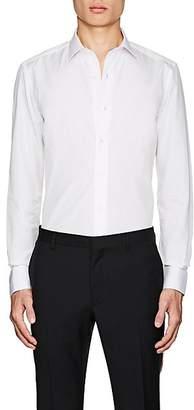 Lanvin Men's Cotton Slim-Fit Dress Shirt - White