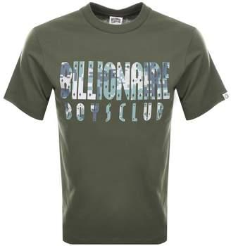 Billionaire Boys Club Digi Camo Logo T Shirt Green