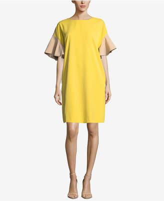 ECI Colorblocked Shift Dress