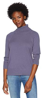 Pendleton Women's Petite Merino Ribneck Turtleneck Sweater