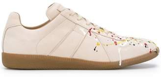 Maison Margiela splatter low top sneakers
