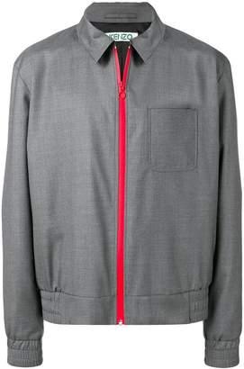 Kenzo contrast zip jacket