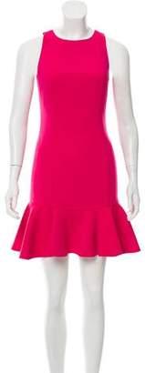 Jay Godfrey Crew Neck Mini Dress