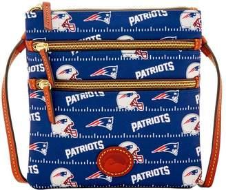 Dooney & Bourke NFL Patriots North South Triple Zip
