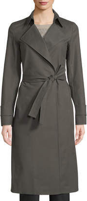 Lafayette 148 New York Inna Belted Trench Coat