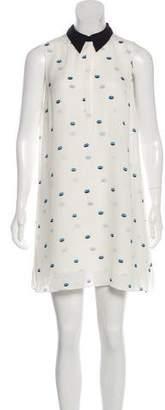 A.L.C. Printed Mini Dress