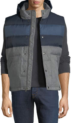 Original Penguin Quilted Colorblock Puffer Jacket