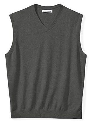 Amazon Essentials Men's Big and Tall V-Neck Sweater Vest
