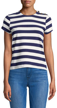 Mds Stripes Hutton Stripe T-Shirt
