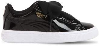 Puma Select Basket Heart Patent Leather Sneakers