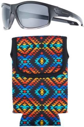 Panama Jack Men's Square-Frame Sunglasses