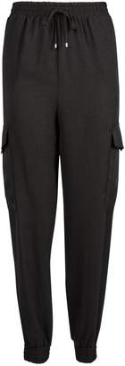 Dorothy Perkins Womens **Tall Black Utility Joggers
