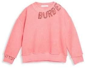 Burberry Little Girl's& Girl's Logo Sweatshirt