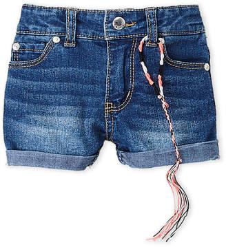DKNY Toddler Girls) Cuffed Denim Shorts
