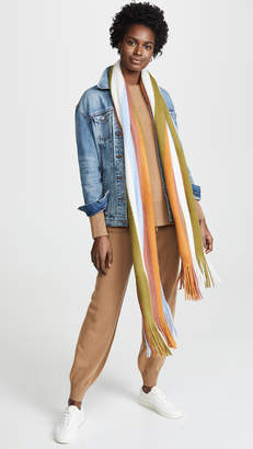 Madewell Oversize Striped Scarf