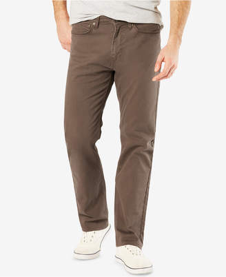 Dockers Jean Cut Straight Fit Khaki Stretch Pants